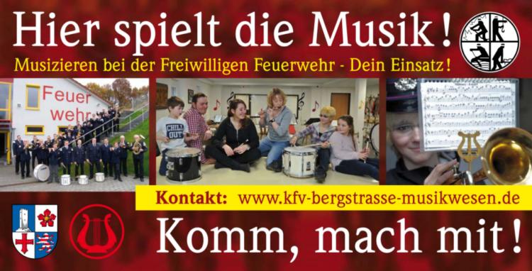 KFV Bergstrasse e.V. Musikwesen